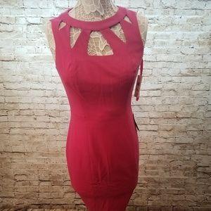 Eliza J Women's Cutout Seath Dress - PRICE FIRM